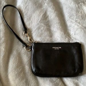 PERFECT CONDITION coach wristlet